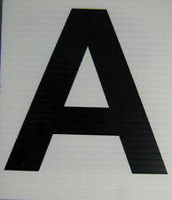Dressage Markers Letters for 20x40 or 20x60 Arena Hard wearing grade LARGE (01)