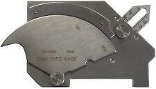 CAM tipo SALDATORI ispezione Gauge/acciaio inox