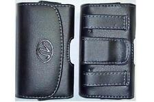 X-Small Cell Phone Universal Horizontal Holster/ Case/ Pouch w/ Belt Loop & Clip