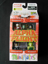 Marvel Minimates - Alpha Flight 4-pack - San Diego Comic Con - AFX Exclusive
