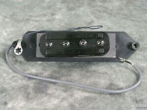 Genuine Rickenbacker 4003 Bass Hi-gain Bridge Pickup Part With Base Plate