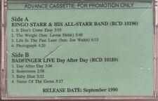 ringo starr & his all-star band / badfinger  cassette limited edition new