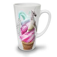 Unicorn Ice-Cream NEW White Tea Coffee Latte Mug 12 17 oz | Wellcoda