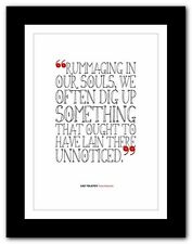 LEO TOLSTOY Anna Karenina ❤ typography book quote poster print perfection #183