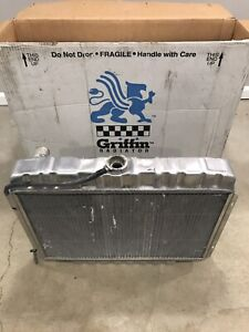 1967-1970 Ford mustang Griffin 7-56BC-FX aluminum radiator