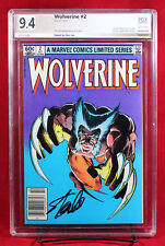 WOLVERINE LIMITED SERIES #2 PGX 9.4 NM Near Mint - signed STAN LEE!!! +CGC!!!