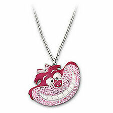 Swarovsk Alice-Cheshire Cat Pendant Pink Disney Crystal Authentic MIB 1110990