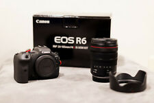 Canon EOS R6 Camera with RF24-105mm F4 L IS USM Lens - MINT condition!!