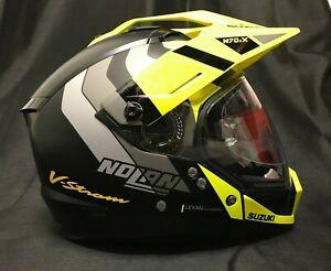 Nolan N70-2 X Road & Geländetauglich Suzuki V-Strom Aufkleber 2021 Motorrad Helm