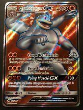 Carte Pokemon MACKOGNEUR 135/147 GX Full Art Soleil et lune 3 SL3 FR NEUF