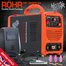 TIG ARC Welder Inverter MOSFET MMA 240V / 200 amp, DC Portable Machine - ROHR 02