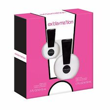 EXCLAMATION By Coty 1.7 oz 50 ml / 0.5 oz Women Perfume EDC Spray GIFT SET 2 PCS