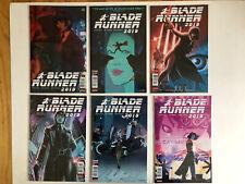Blade Runner 2019 Titan Comics #1 2 3 4 5 6 (A Covers) Complete Full Run 1-6
