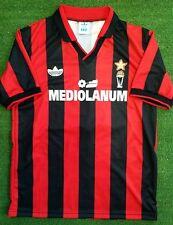 Maglia AC MIlan 1990/1991 retro shirt Italy  Mediolanum jersey Size S M L XL
