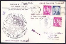 USA- Germany 1962 Used Cover Military Sea Transportation sea Lincoln on stamp ()