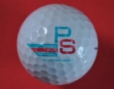 Pelota de golf con logo-PS edificio Management-golf logotipo Ball-recuerdo empleados