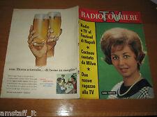 TV RADIOCORRIERE=1961/38=GLORIA CHRISTIAN=PAOLO STOPPA=BIXIO=SANZOGNO ANGIOLETTI