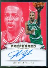 2013-14 Panini Preferred #571 Jeff Green PS Autograph Auto Card 1/25 First One