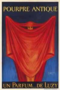 Pourpre Antique Un Parfum Luzy 1921 Cappiello Vintage Giclee Canvas Print 13X20