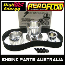 HIGH ENERGY BILLET ALUMINIUM GILMER BELT DRIVE KIT HOLDEN 6 173 179 186 191 202