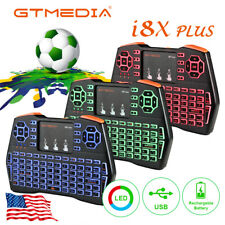 Mini 2.4GHz I8 Wireless Keyboard Mouse Touchpad For Android Smart TV BOX PC,USA