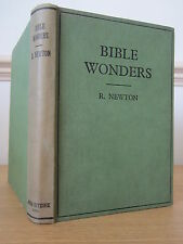 Bible Wonders - With Sixty-Nine Illustrations - Richard Newton