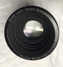 Leica Focotar 9.5cm f4.5 lens 95mm 9,5cm for Focomat enlarger Wetzlar FOODE