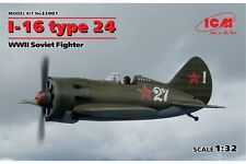 ICM 32001 1/32 I-16 type 24, WWII Soviet Fighter