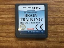Dr. Kawashima's Brain Training DS Nintendo DS Game, Cartridge Only! GENUINE!