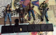 G.I. Joe 25th Anniversary Dreadnoks Lot Zartan Buzzer Ripper & Torch LOOK!! 👀