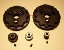 Traxxas 86T 90T Spur Gear and 16T 23T 28T Pinion Gear Lot Set of 5 all 48 Pitch