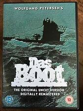 DAS BOOT ~ 1981 German World War II U-Boat Drama ~ 6 Hour TV Mini Series UK DVD