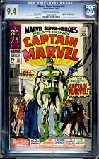 MARVEL SUPER-HEROES  #12 CGC 9.4 OFF-WHITE TO WHITE ORIGIN AND FIRST APPEARANCE!