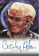 Complete Star Trek Deep Space Nine DS9 Cecily Adams / Ishkar A19 Auto Card