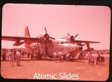 1960s ektachrome photo slide HU-16 SA-16 Albatross USAF rescue airplane
