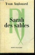 Sarah des sables.