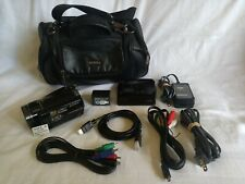 Sony Hdr-Cx7 Hd Handycam Camcorder W/ Bag Cables & Accessories Excellent Cond
