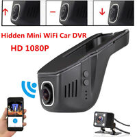 HD 1080P Car WiFi Hidden DVR Camera DashCam Video Recorder Night Vision G-Sensor