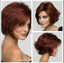 Fashion wig New Women's Charm short Red Brown Anti- Alice Natural Hair Full wigs