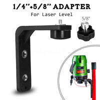 1/4'' 5/8'' L-shape Magnet Wall Bracket Holder For Laser Level Adapter Thread !