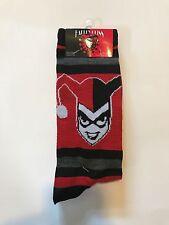 Marvel Harley Quinn Tall Knee 2 Pack High Socks New Sealed Size 6-12