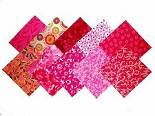 """40 5"""" Quilting Fabric Squares PRETTY IN PINK/ Beautiful/BUY IT NOW!!NEW !!!!"""