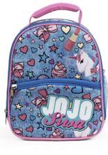 Jojo Siwa Lunchbag Fab NY JoJo Backpack Style Lunch Bag School Box