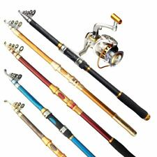 Portable Telescopic Fishing Rod Carbon Fiber Carbon Spinning Pole Sea Fishing