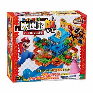 Super Mario Large Maze Game DX Princess Peach and Five Labyrinths Family Game 5+