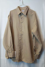 Unifirst ARMOREX FR Khaki FOOD SERVICE Work Shirt Mens Size XXL Flame Resistant