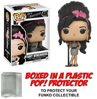 Funko POP! Rocks ~ AMY WINEHOUSE VINYL FIGURE w/Protector Case ~ Rock Stars