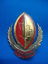 ANGOLA AFRICA MILITARY ARMY ESTADO MAIOR GENERAL DAS FAA BADGE 56mm