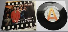 "Frank Zappa - I Don't Wanna Get Drafted UK 1980 Promotional 7"" P/S"