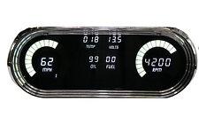 Chevy Nova DIGITAL DASH PANEL 1963-1965 Gauges Intellitronix White LEDs LS READY